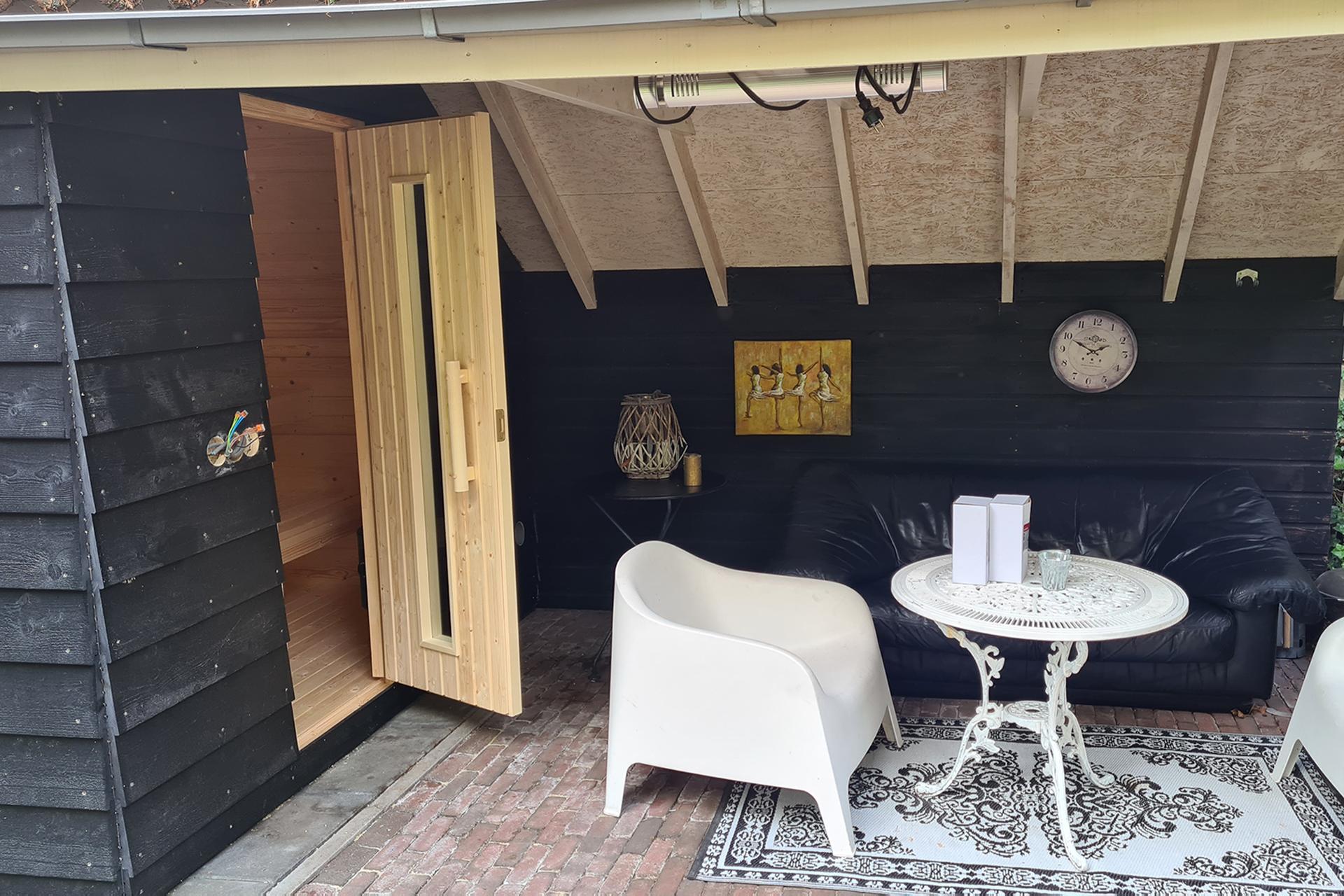 B&B met sauna